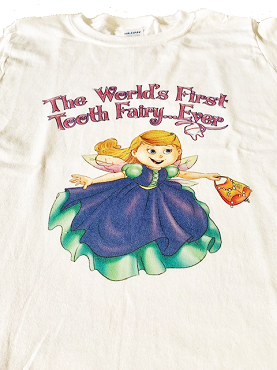 The World's First Tooth Fairy… Ever T-Shirt